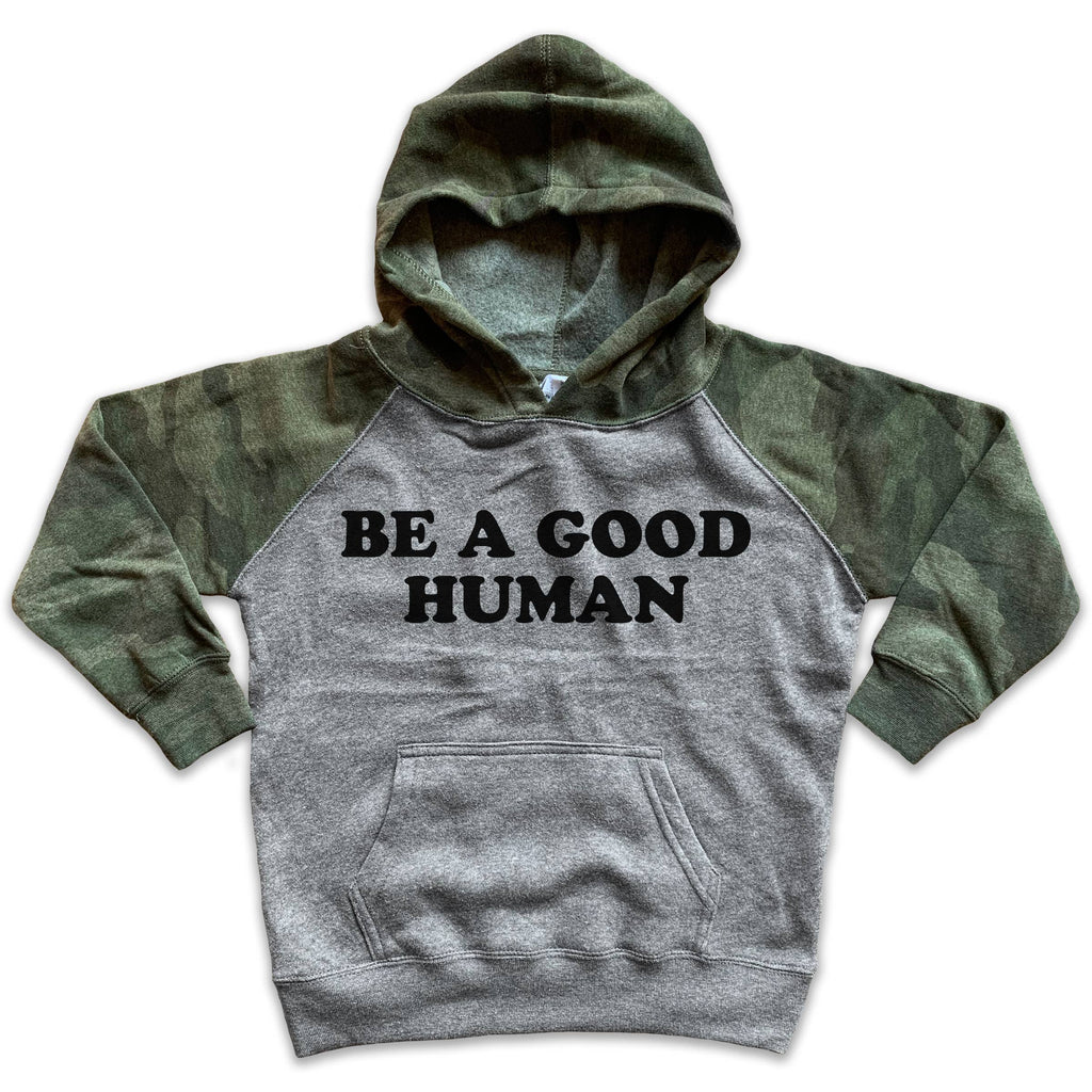 Rivet Apparel Co. - Good Human Pullover Hoodie - GRACEiousliving.com