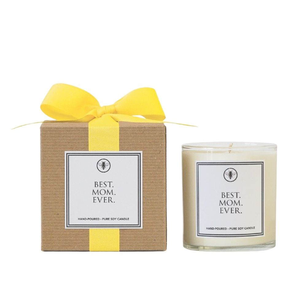 Best. Mom. Ever. 11 oz. Jar Candle by Ella B. Candles® - GRACEiousliving.com