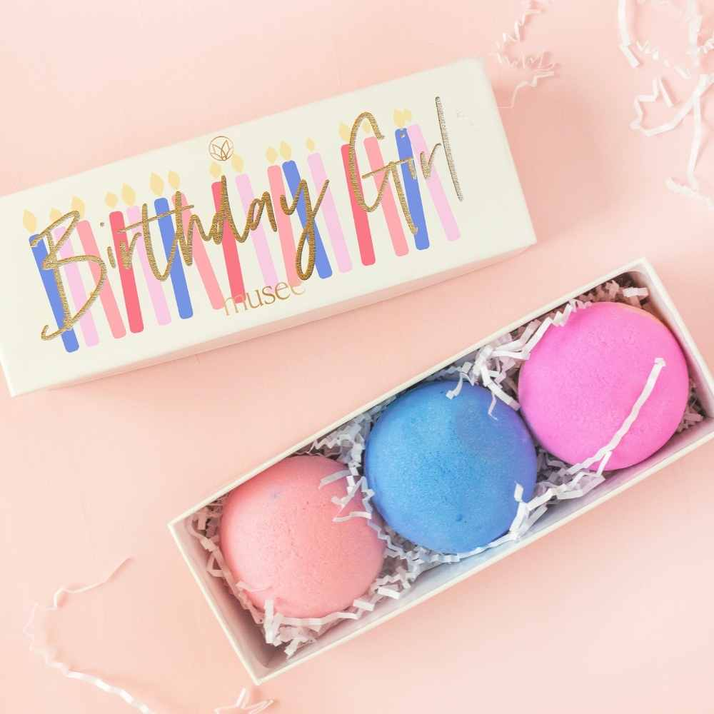 Musee® Birthday Girl Bath Balm Set - GRACEiousliving.com