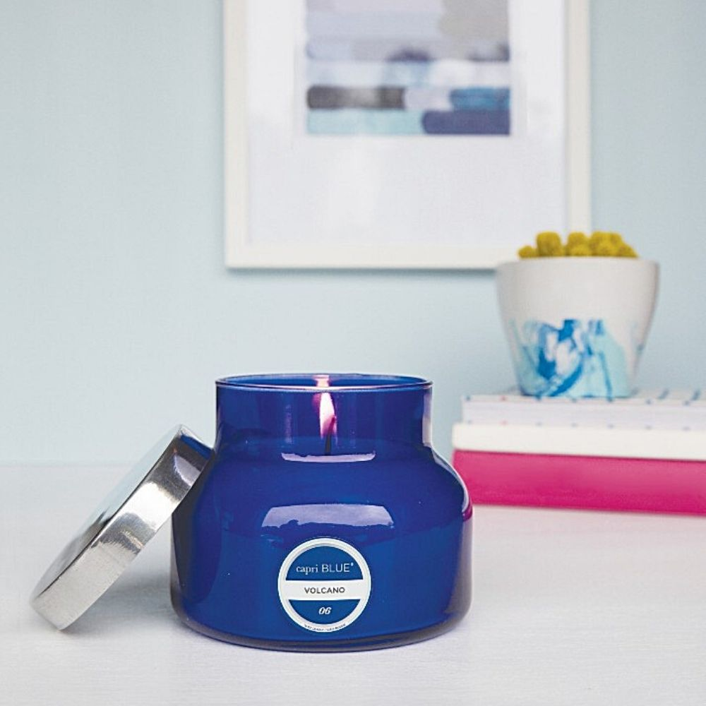 Volcano Signature Jar Candle by Capri Blue® - GRACEiousliving.com