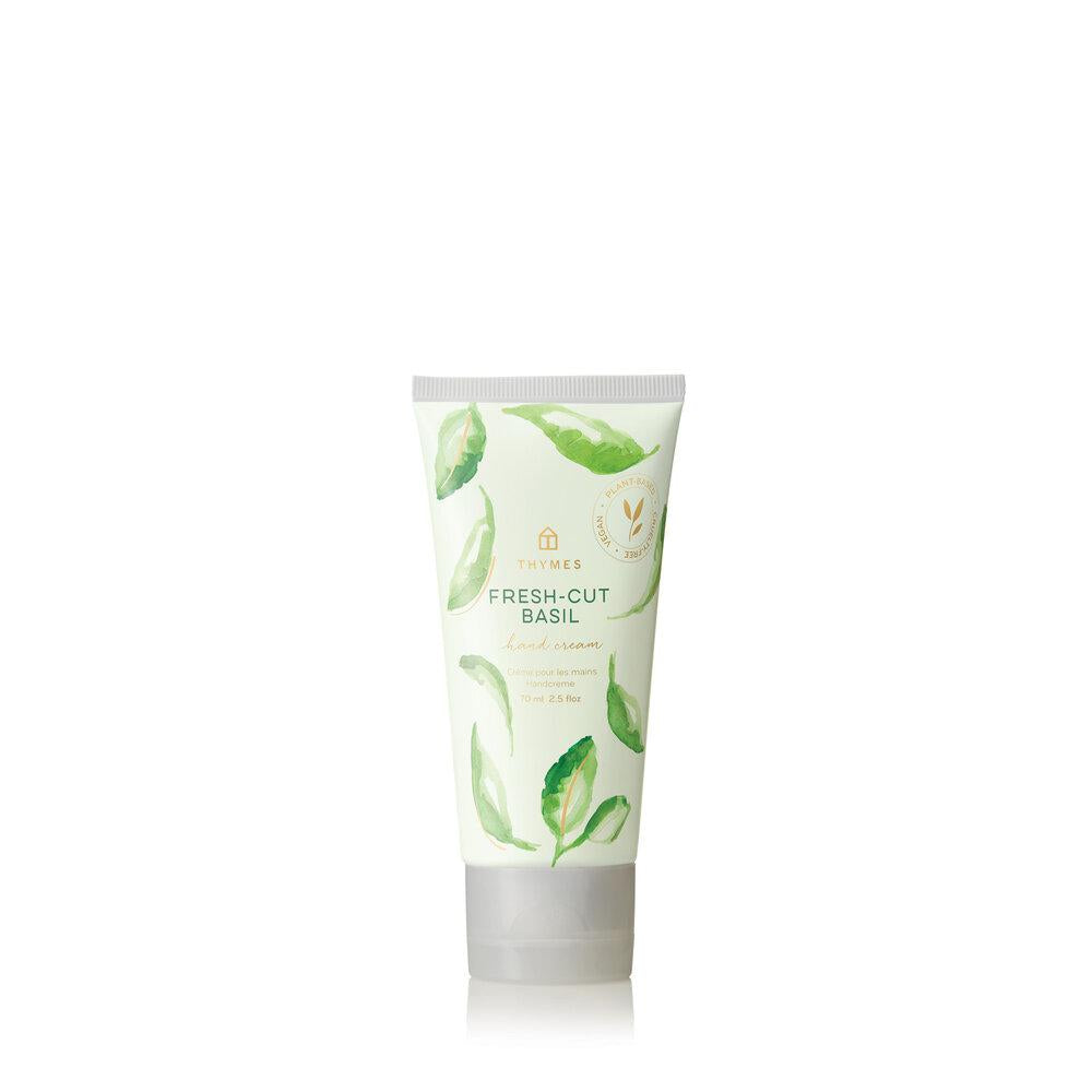Thymes Fresh Cut Basil Hand Cream - GRACEiousliving.com