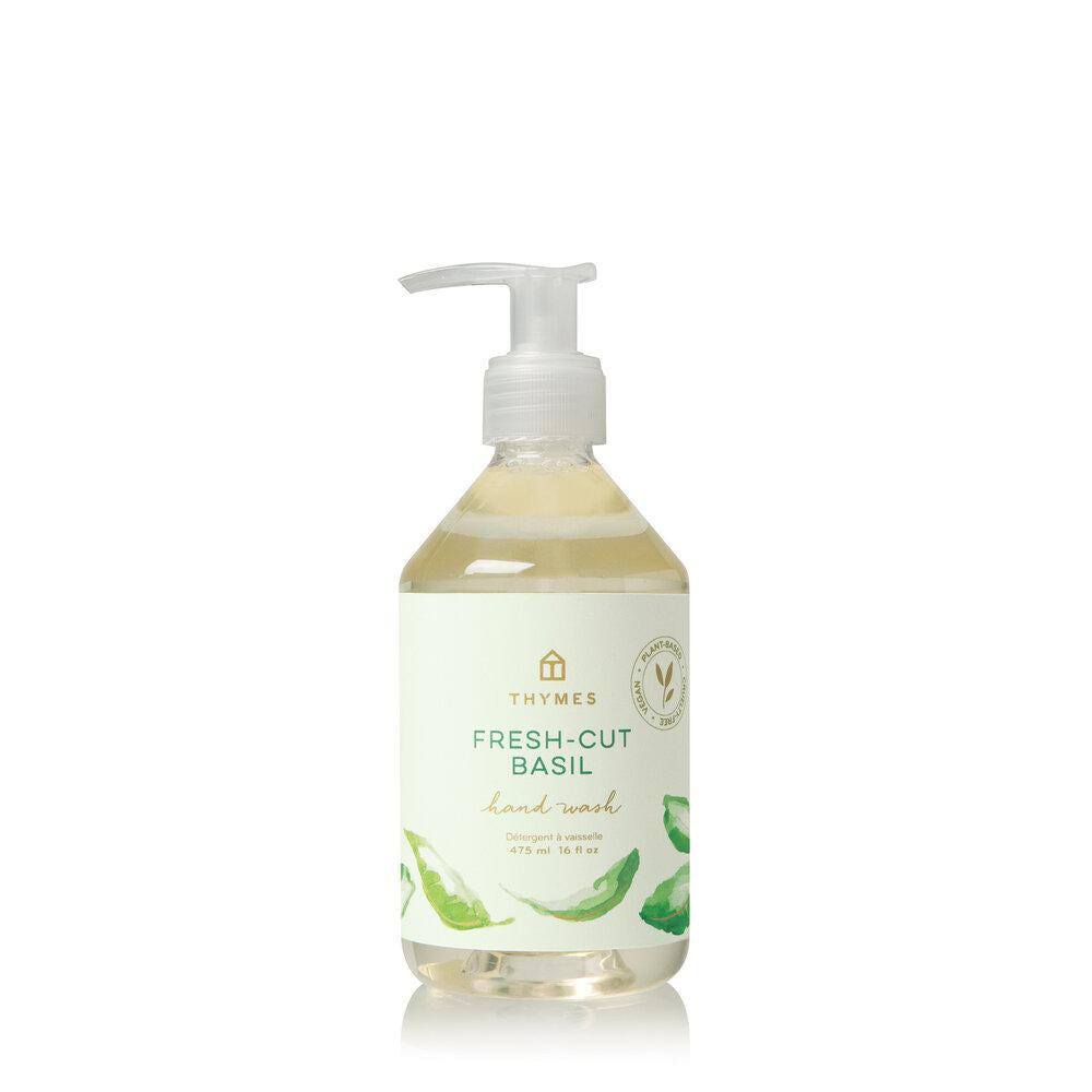 Thymes Fresh Cut Basil Hand Wash - GRACEiousliving.com