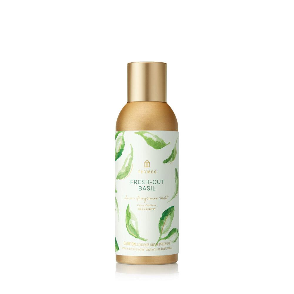 Thymes Fresh Cut Basil Home Fragrance Mist - GRACEiousliving.com