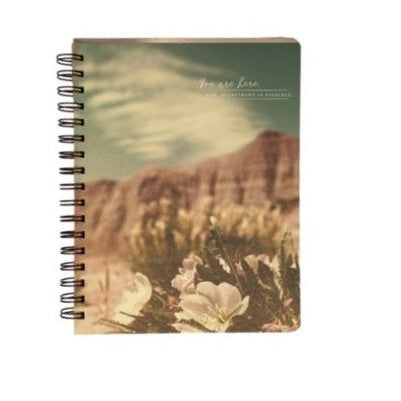 """You are here. Now everything is possible."" Journal by Compendium® - GRACEiousliving.com"