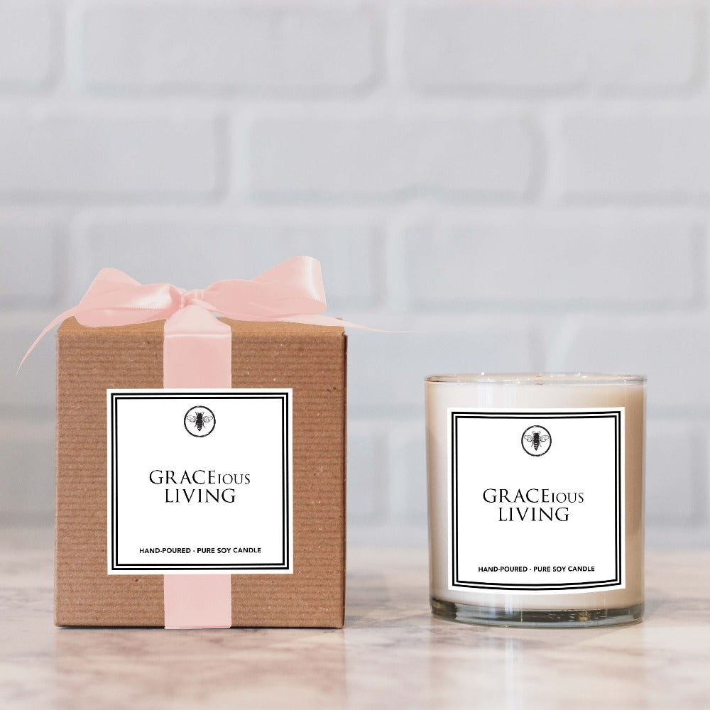 GRACEious Living 11 oz Jar Candle by Ella B. Candles® - GRACEiousliving.com