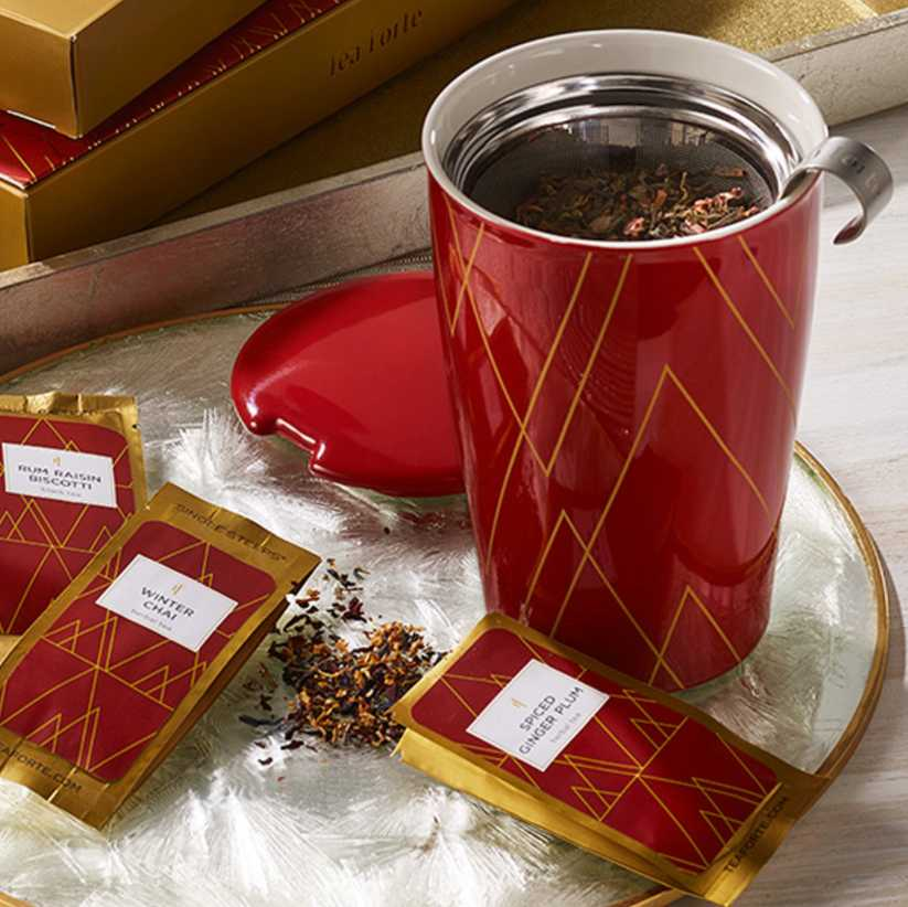 Tea Forte® Warming Joy Single Steeps Sampler - GRACEiousliving.com