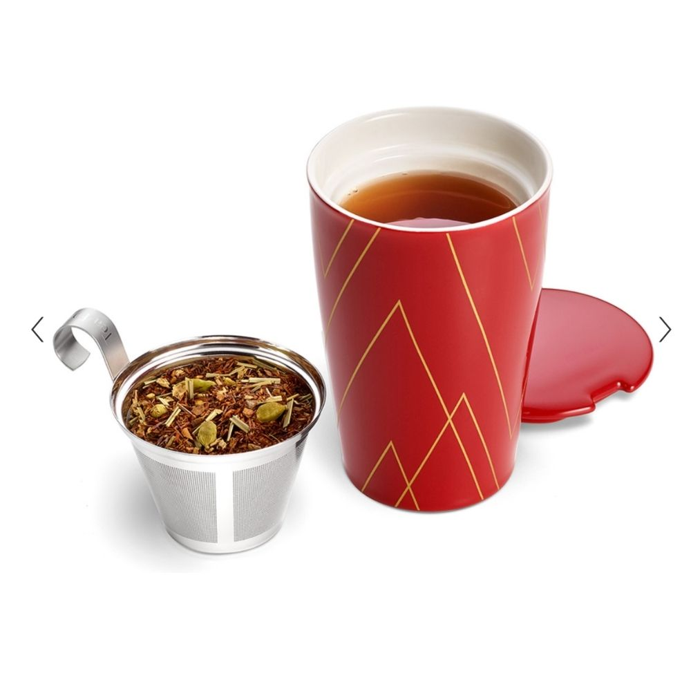 Tea Forte® Warming Joy Kati Cup with Infuser - GRACEiousliving.com