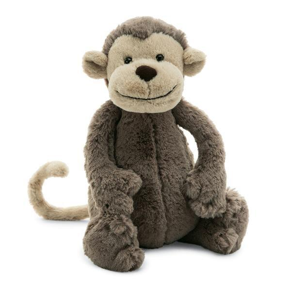 Jellycat® Bashful Monkey - GRACEiousliving.com