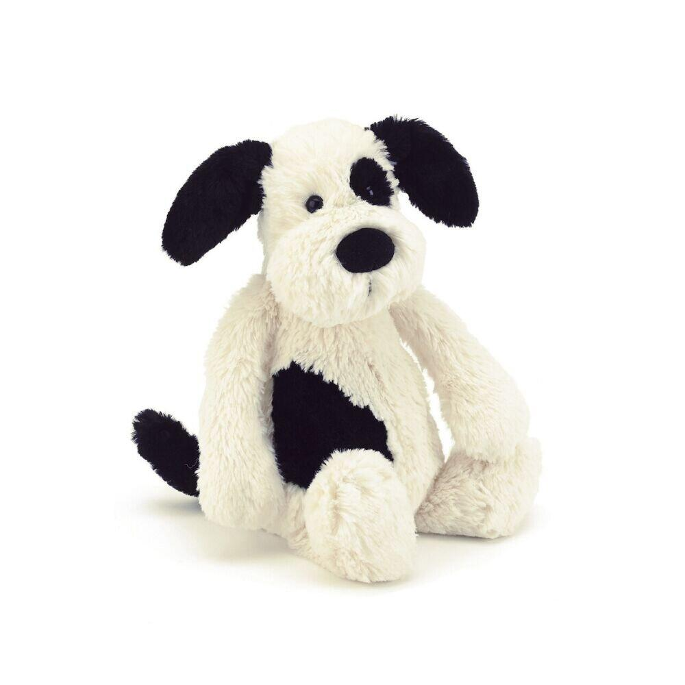 Jellycat® Bashful Black and White Puppy - GRACEiousliving.com
