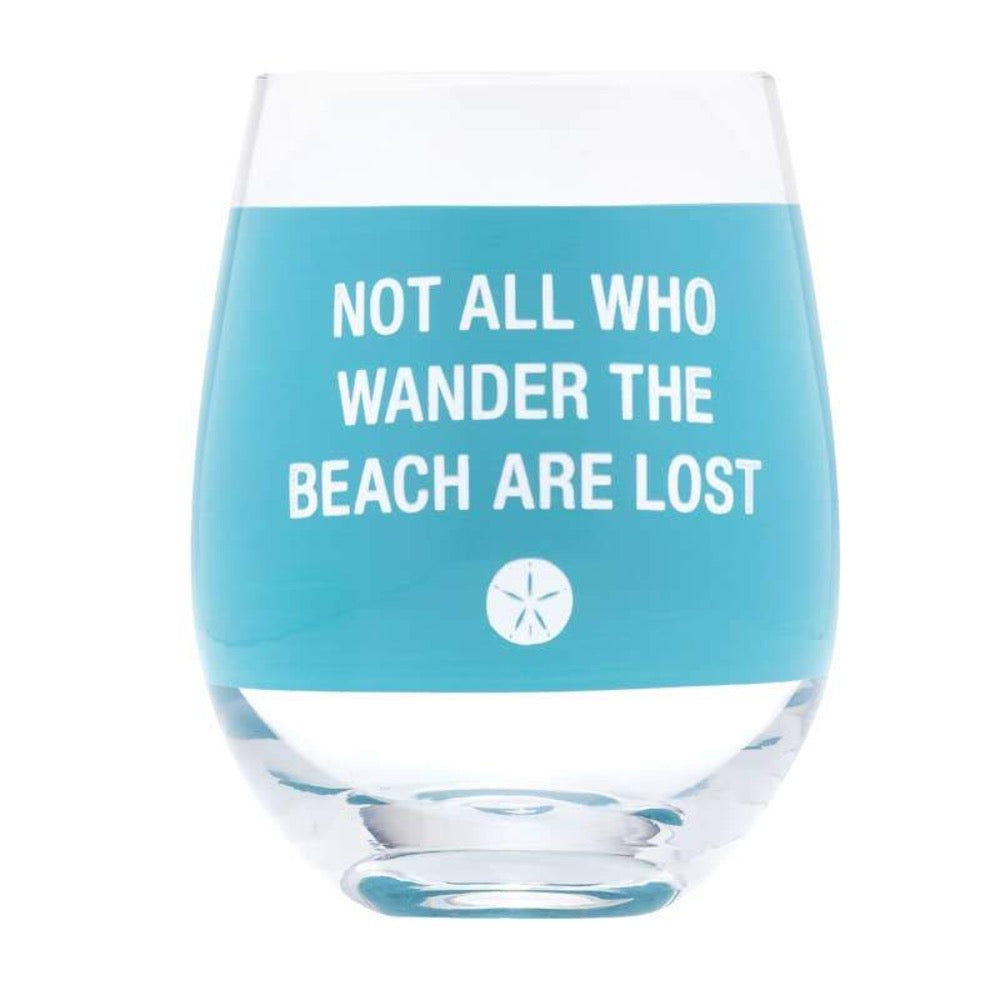 About Face Designs - Wander Wine Glass - GRACEiousliving.com