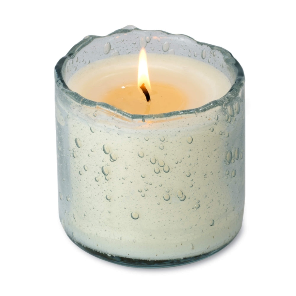 Himalayan® Sugared Lemon Artisan Blown Glass Tumbler Candle - GRACEiousliving.com