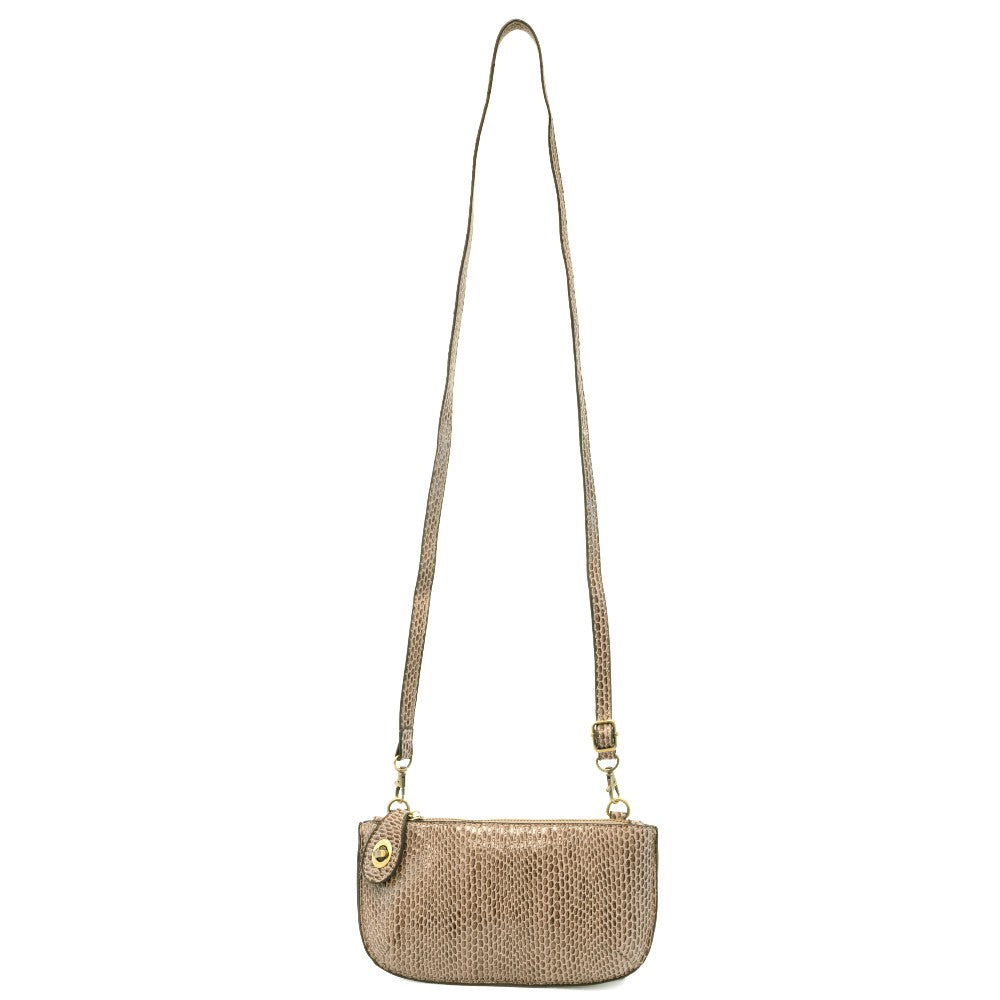 Joy Susan® Python Mini Crossbody Wristlet Clutch - GRACEiousliving.com