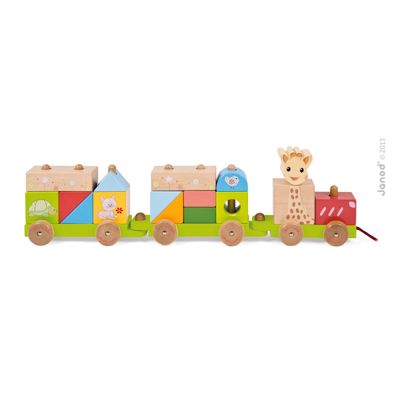Sophie the Giraffe Train
