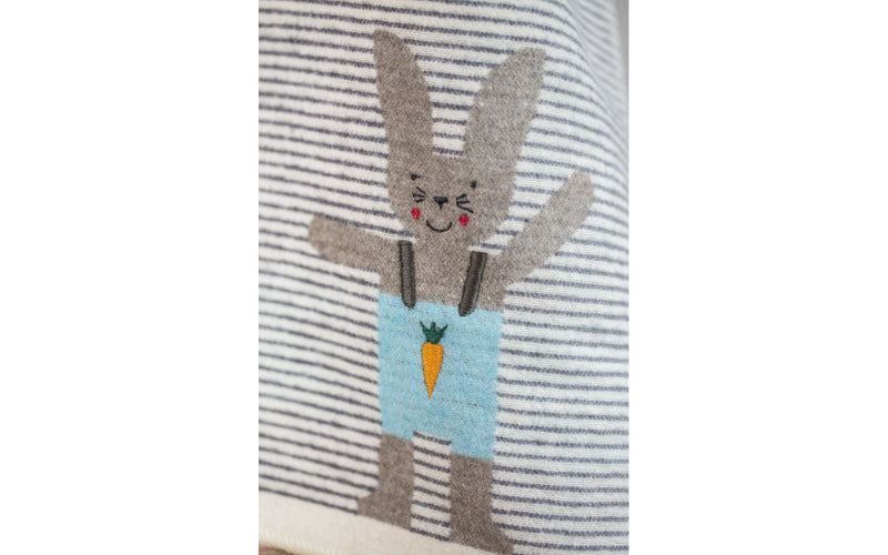 Bunny Stripes blanket