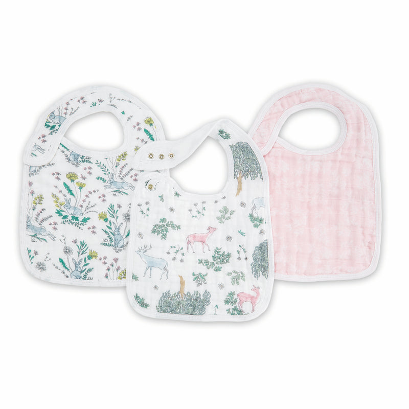 Forest Fantasy - 3 Pack Classic Bibs