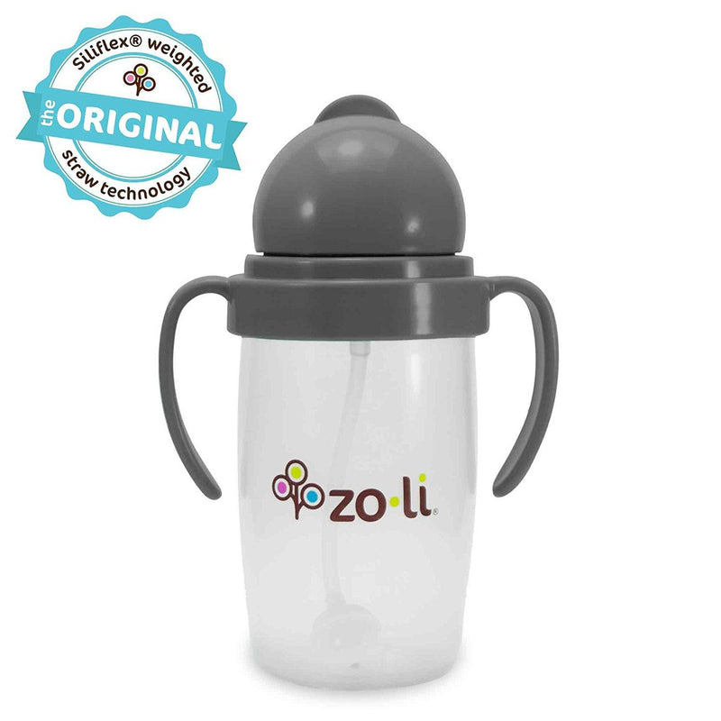 Bot 2.0 10 Oz Straw Sippy Cup - Grey