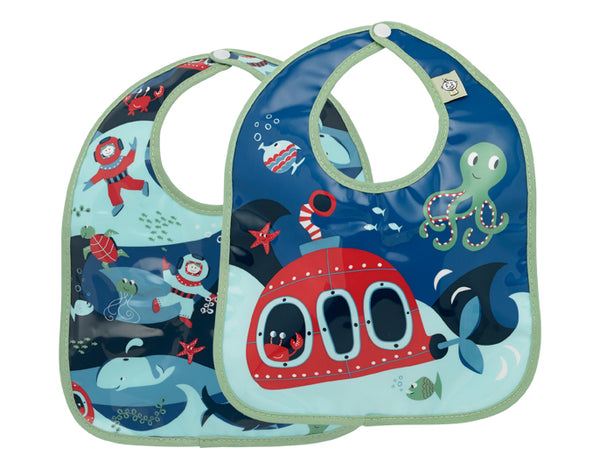 Ocean - Mini Bib Set