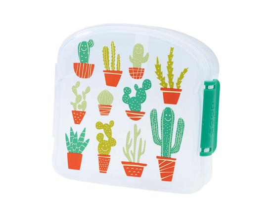 Happy Cactus Good Lunch Sandwich Box