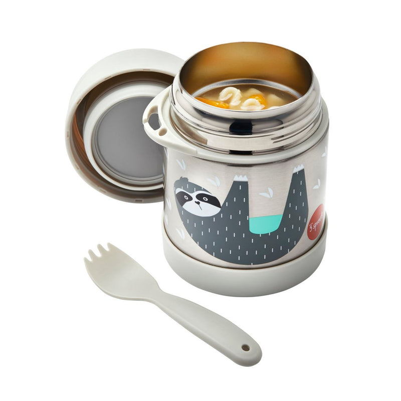 sloth stainless food jar