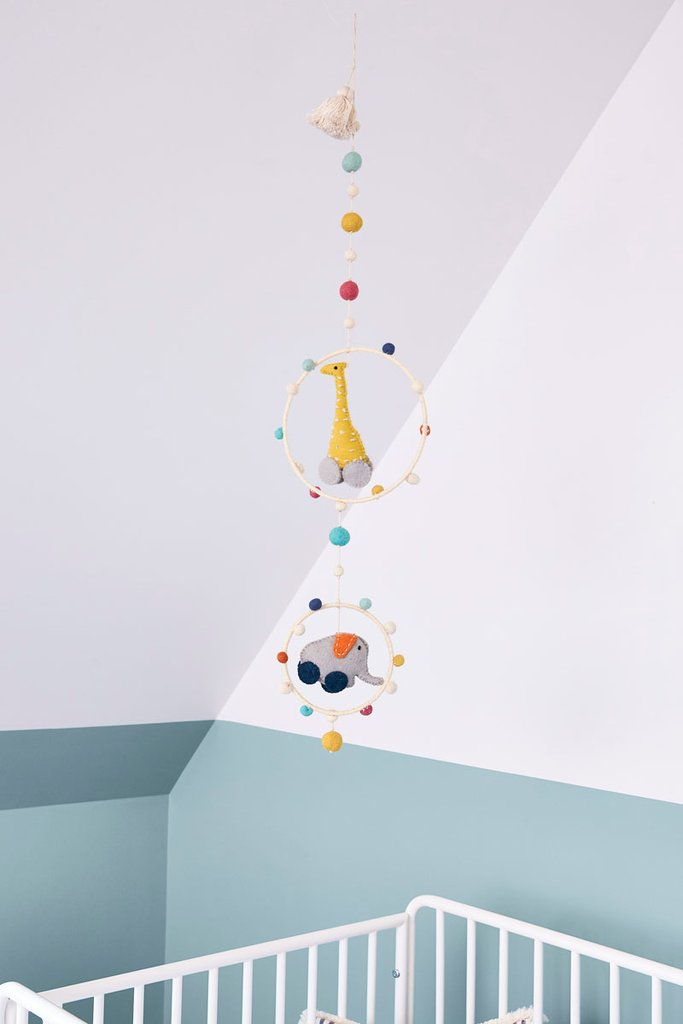 Pull Toys Hoop Mobile