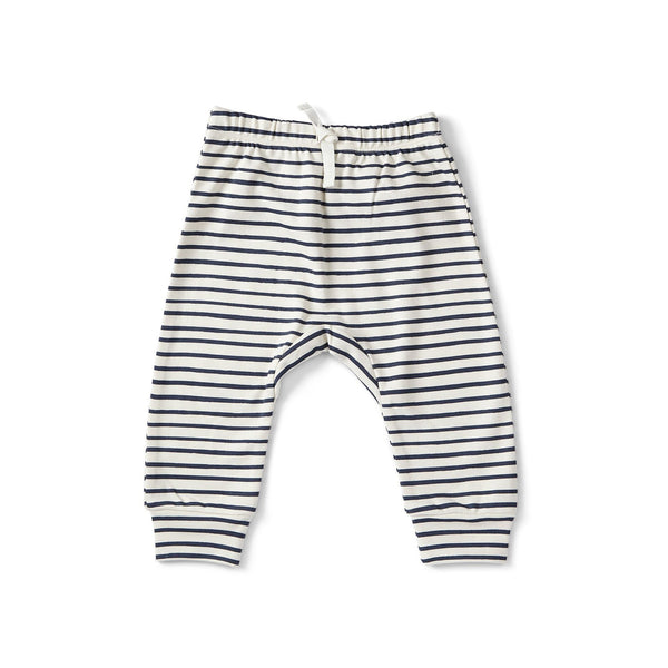 Stripes Away Harem Pants