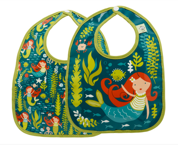 Isla the Mermaid Mini Bib Set