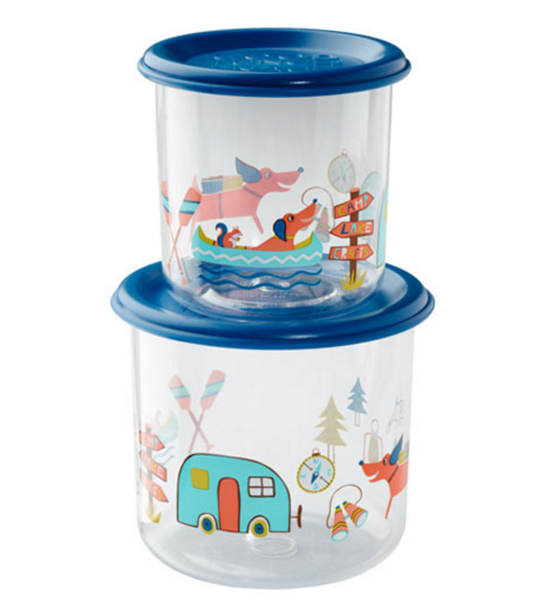 Happy Camper - Good Lunch Snack Container Set (Large
