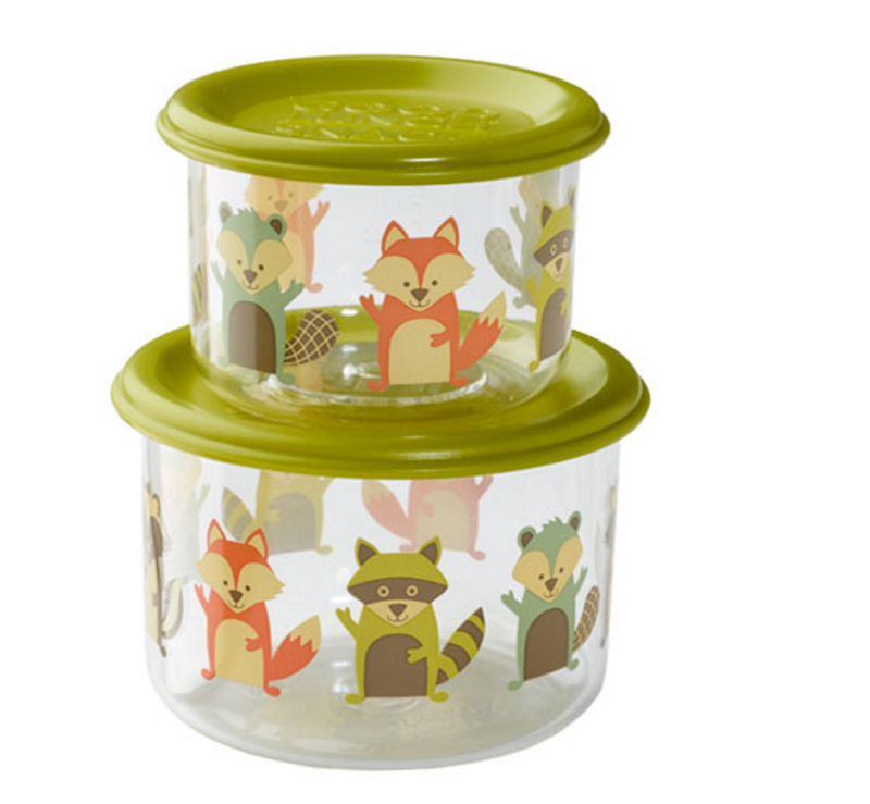 What Did the Fox Eat? - Good Lunch Snack Container Set (Small)