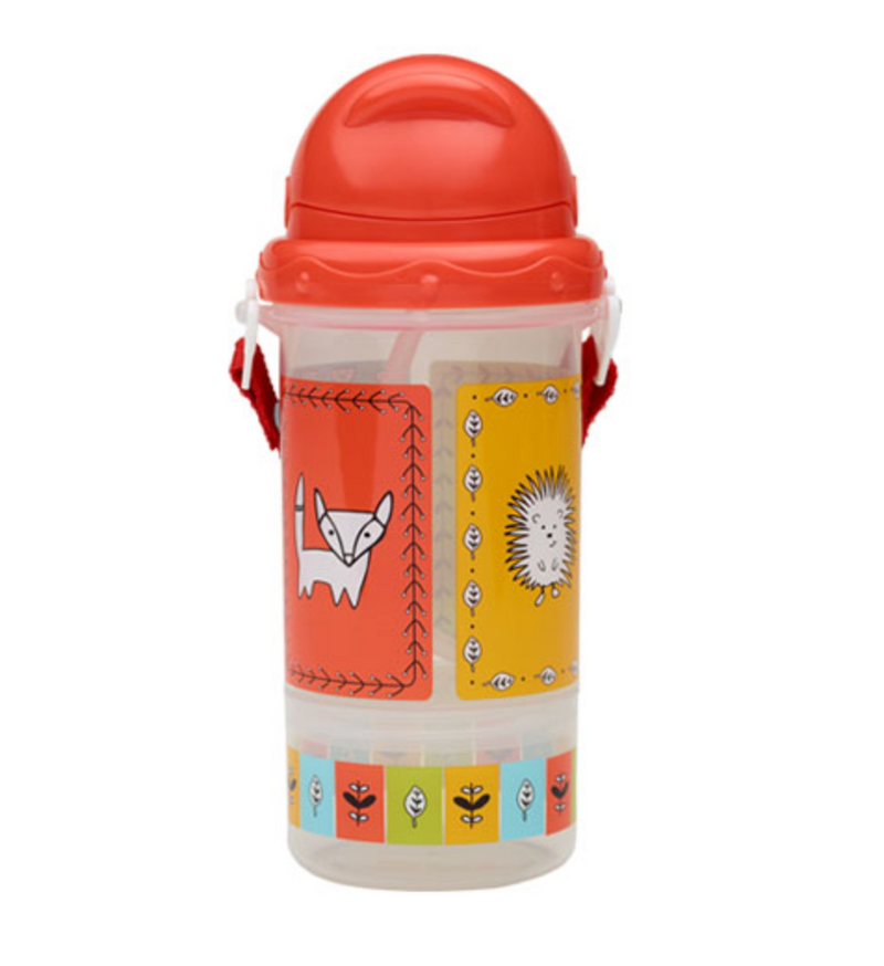 Flip & Sip® Snacker Meadow Friends™ In Red