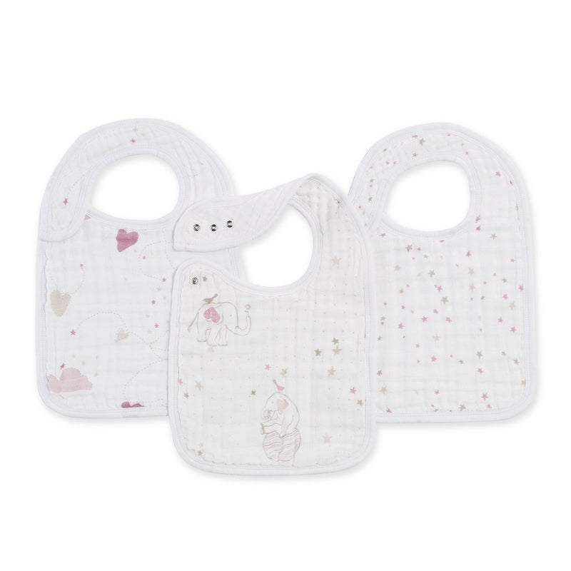 Lovely Classic Snap Bibs