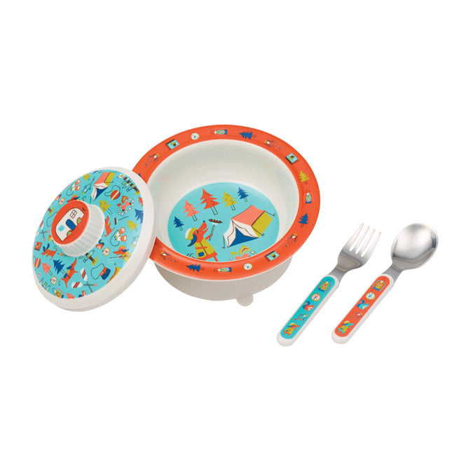 Happy Camper Bowl Set