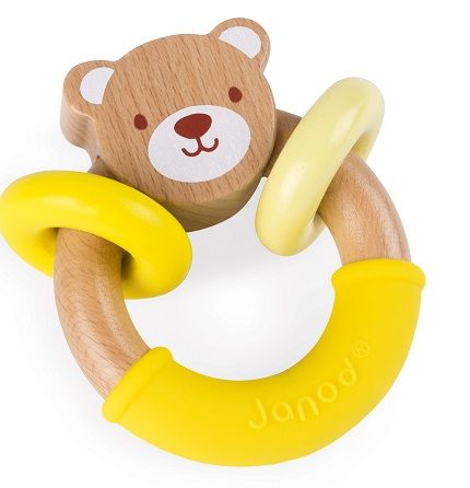 Babypop Bear Rattle