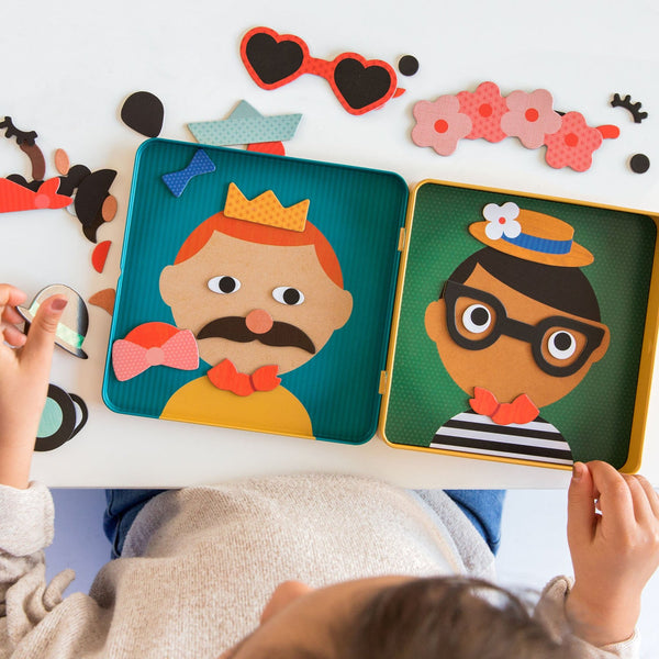 Funny Faces Mix and Match - Magnetic Play Set