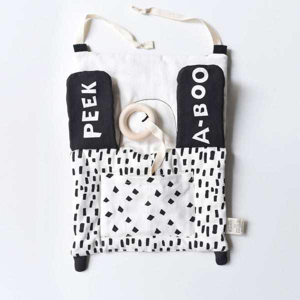 Organic Activity Pad - Peekaboo Panda