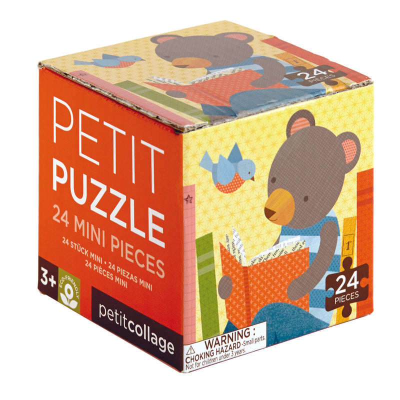 Petit Puzzle Reading Bear