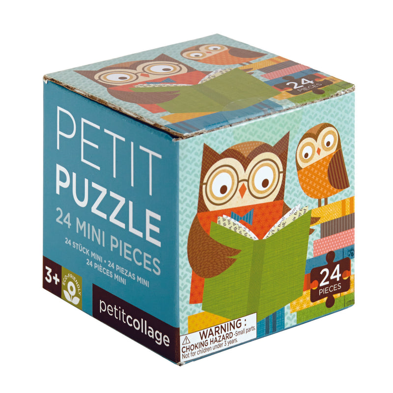 Petit Puzzle Reading Owls