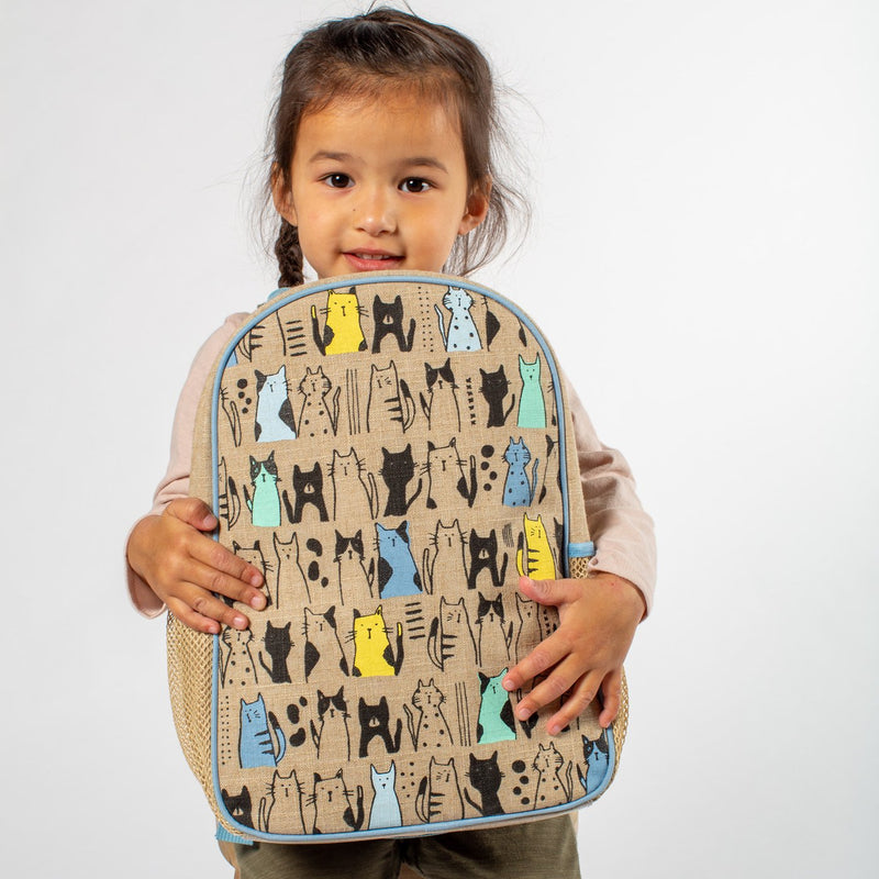 Curious Cats Toddler BackPack