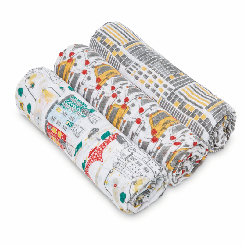 City Living 3-Pack Classic Swaddles