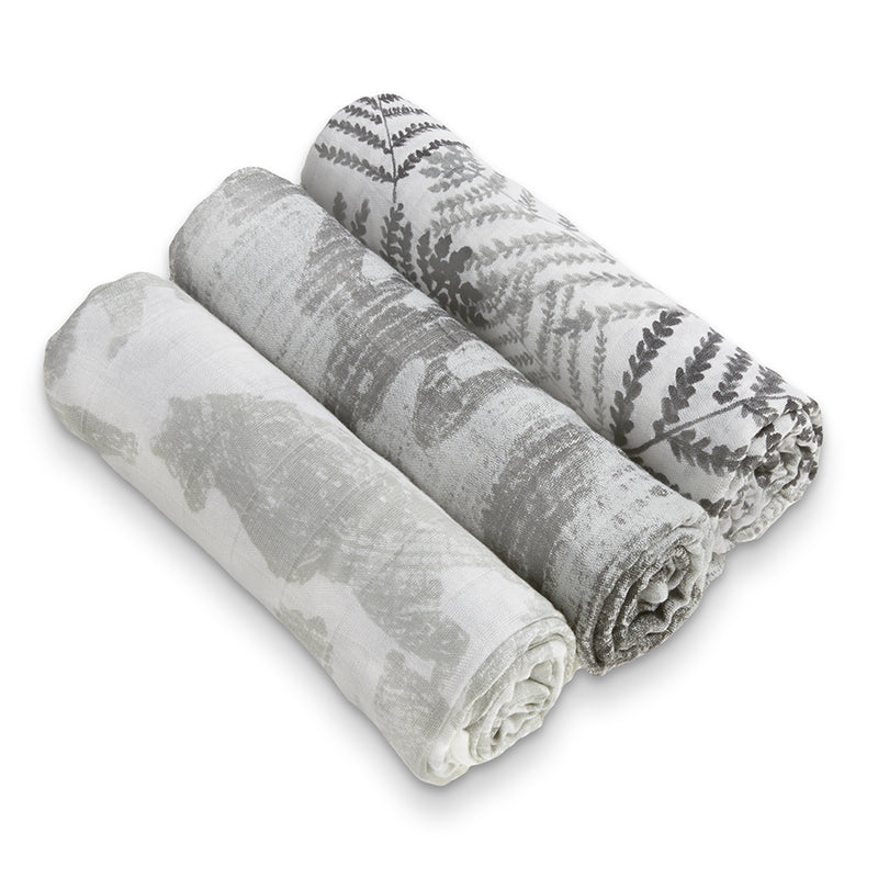 Forager - White Label 3 Pack Swaddle