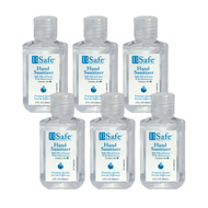 BSafe Hand Sanitizer, 2oz Set of 6