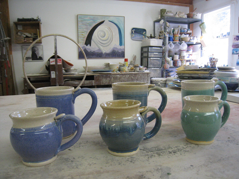 Handmade Cups and Mugs