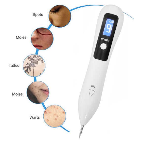 Angels 2020 Digital Plasma Pen for the removal of Moles, Warts, Freckles, Tattoos, Age Spots and other skin blemishes and imperfections