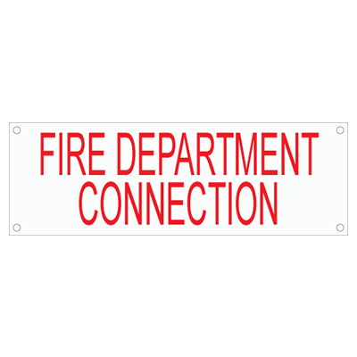 Sprinkler & Fire Suppression System Tags