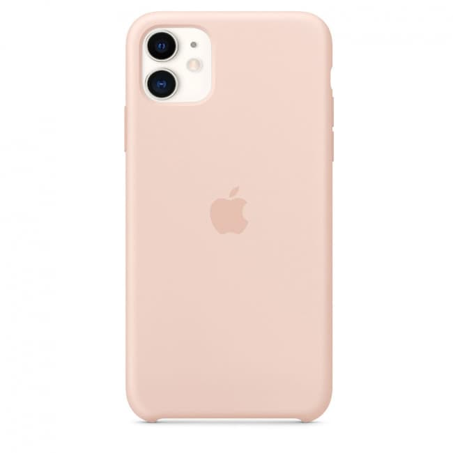 Apple iPhone Original Silicone Case - Pink Sand