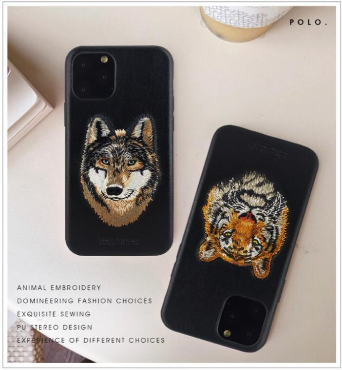 Santa Barbara Savanna Series Genuine Leather Case for iPhone X to 12 Pro Max