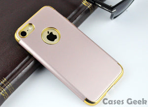 Apple iPhone Rose Gold Fashion Series with Gold Plating Case | Cover