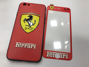 Apple iPhone Boter Series Ferrari 2in1 360 Degree Protection Case | Cover