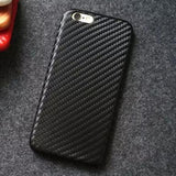 Apple iPhone Carbon Fiber Finish Anti Scratch Silicon Dust Resistant Case | Cover