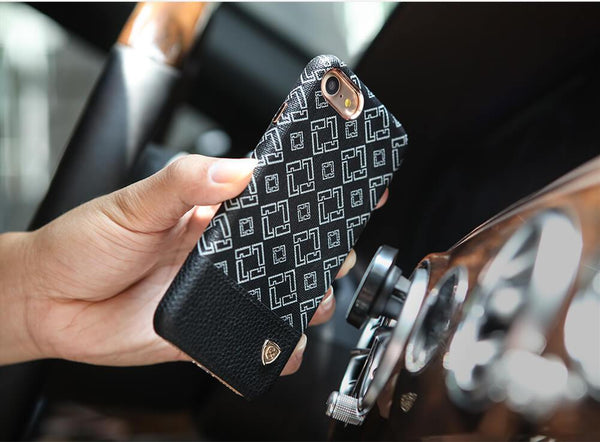 iPhone Nillkin OGER Series Black Leather Luxury Case | Cover
