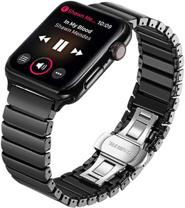 Apple iWatch Ceramic Band Black